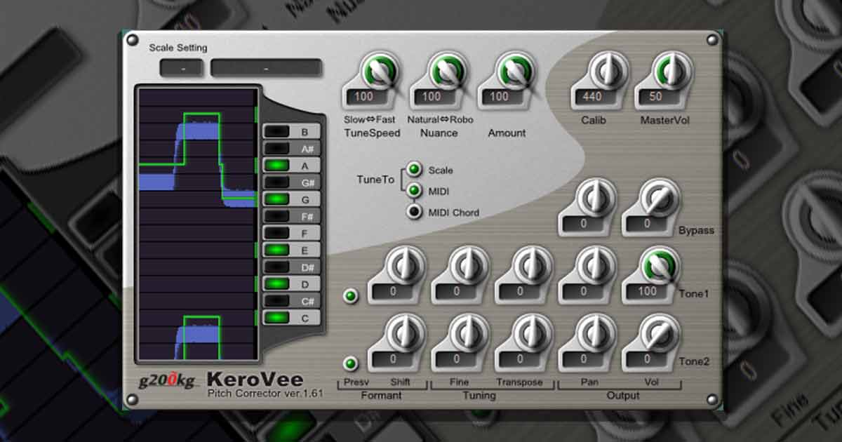 Free Kerovee Pitch Corrector Windows Free Vst Plugins