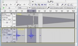 Screenshot of Audacity Audio Editor