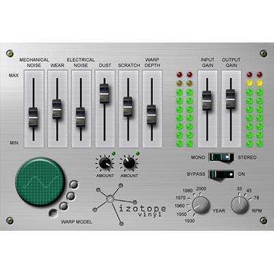 Add that vinyl sound to your audio with Izotope Vinyl