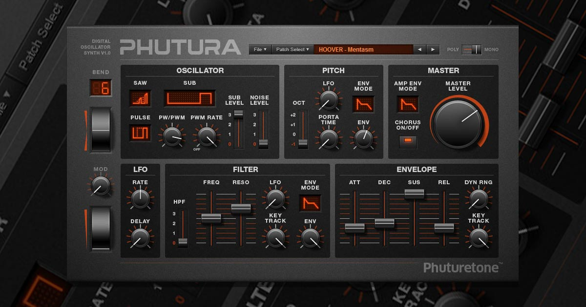 Download Phutura VSTi Synth Plugin Free Now