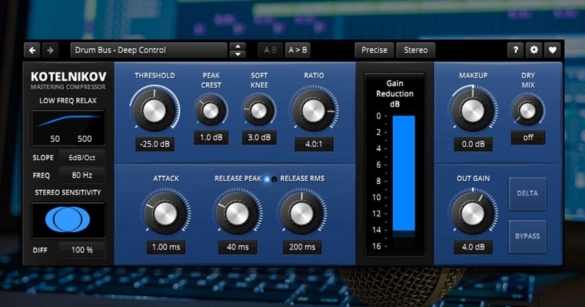 TDR Kotelnikov - Free Dynamics Plugin For PC & Mac