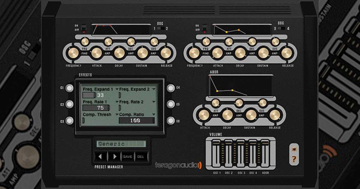 Teragon Audio Kickmaker Free Drum VST Synth Plugin
