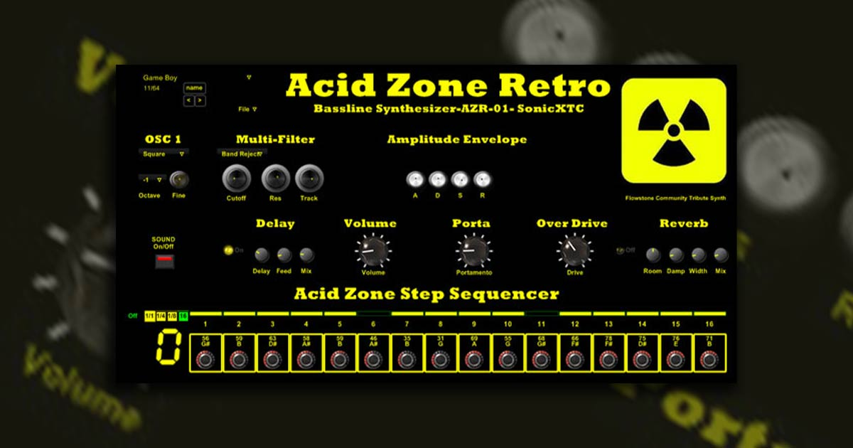Download Acid Zone Retro Synth VST Plugin Free Now