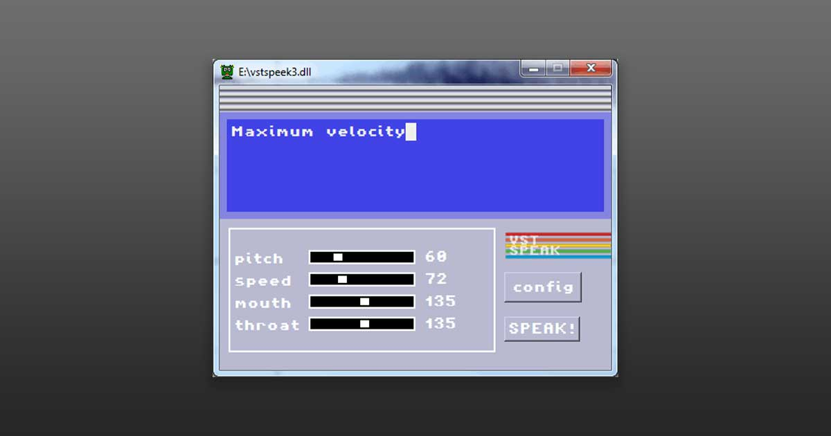 Download Free VST Text To Speech Plugin Now