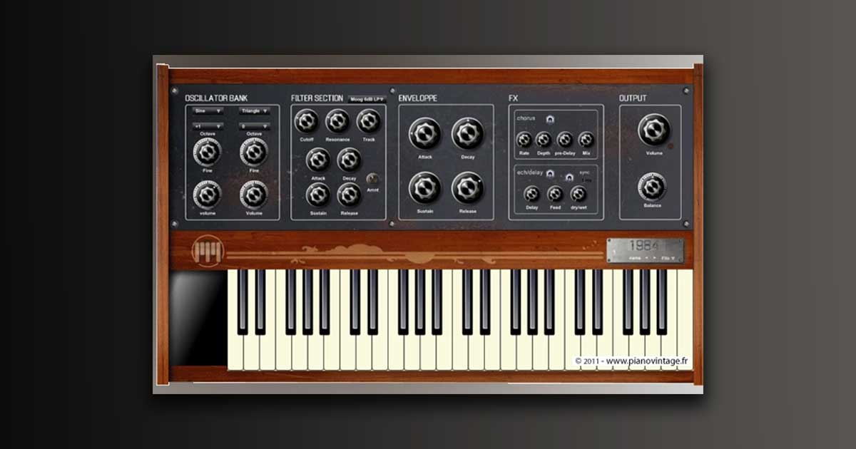 Download Piano Vintage 1984 VST Free Today