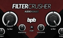 Audio Assault Filter Crusher VST Plugin Screenshot