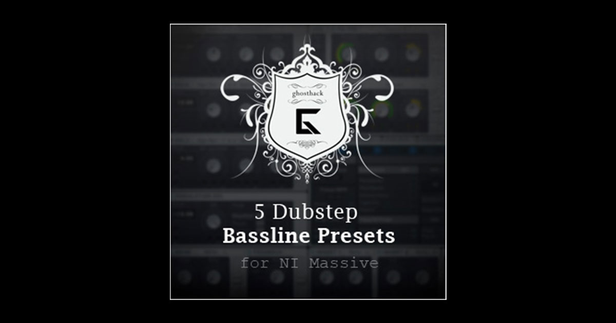 Get 5 Free Dubstep Presets For Massive Now
