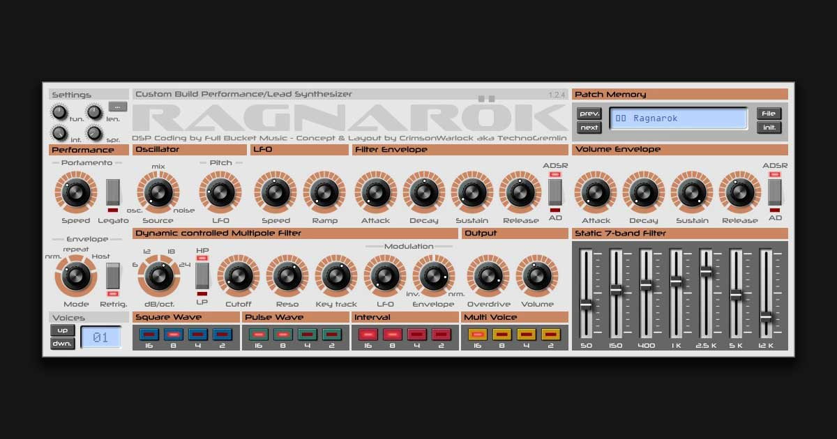 Download Ragnarok Synth Plugin For PC & Mac Today