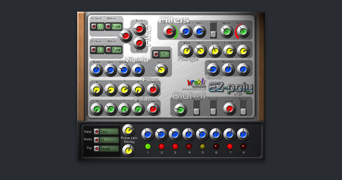 Download EZ Poly - VST Synth Plugin Now