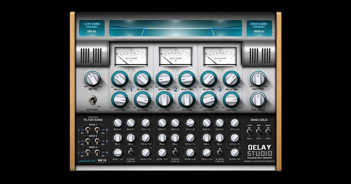 Get Delay Studio VST Effect Free Now