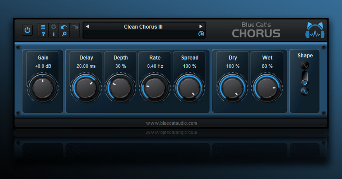 Download Blue Cat Chorus For PC & Mac Free Now