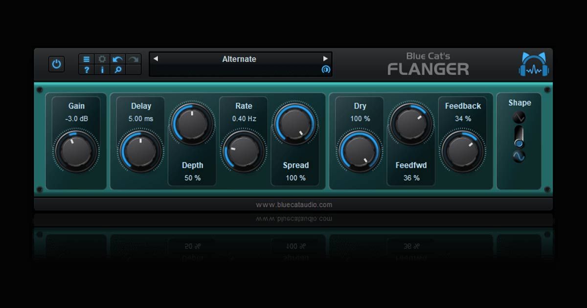 Download Blue Cat's Flanger Free Now