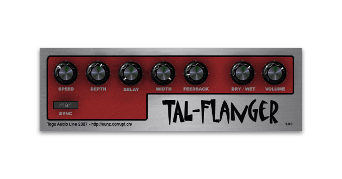 Download TAL-Flanger VST Plugin For PC & Mac Free Now