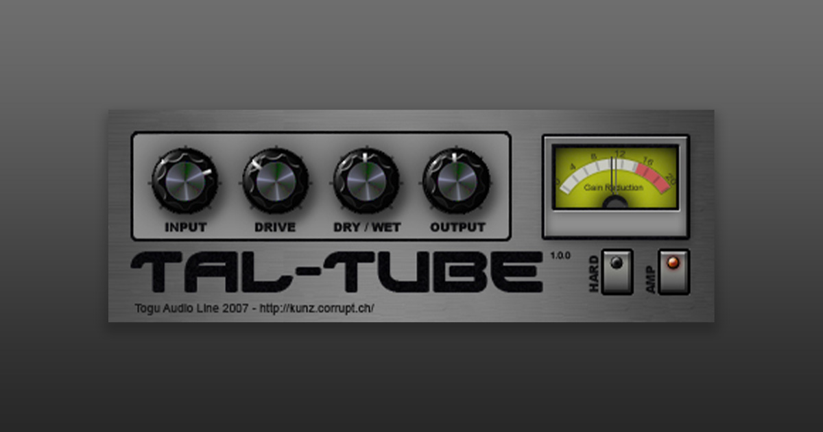 Download TAL Tube Plugin For PC And Mac Free Now