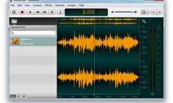 Ocenaudio Wave Editor