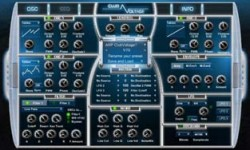 Noizefield Club Voltage Free VSTi Synth Plugin Screenshot