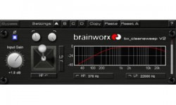 Brainworx BX_CleanSweep V2 Free VST Plugin