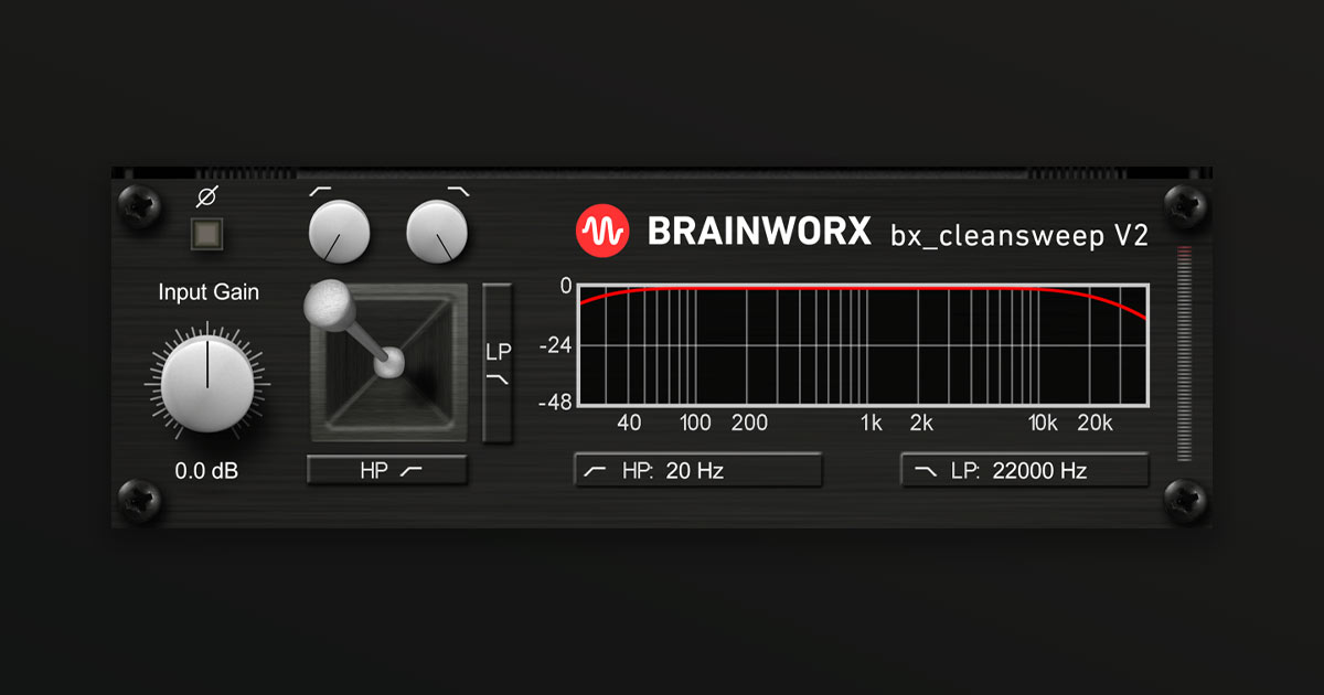 Download Brainworx BX_Cleansweep V2 Now