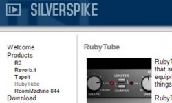 Silverspike Ruby Tube Free VST Plugin