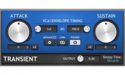 Transient Free VST Plugin