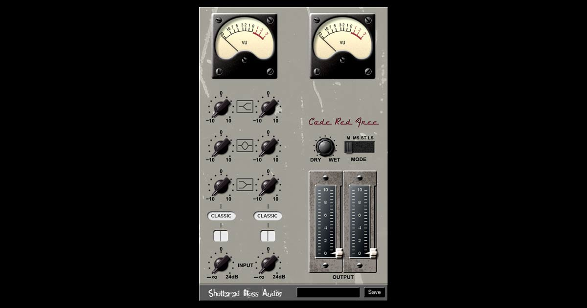 Code Red Free - Free EQ Plugin For PC And Mac