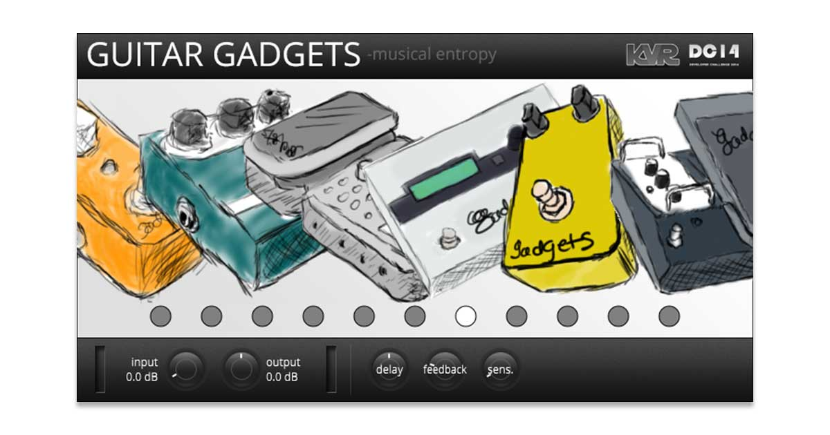 Guitar Gadgets Free Effects Plugin Download For PC & Mac