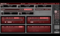MBitFun, a free distortion VST plugin effect from Meldaproduction