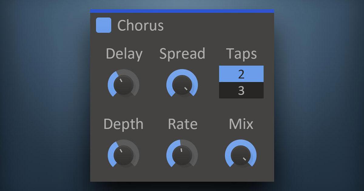 Chorus plugin vst