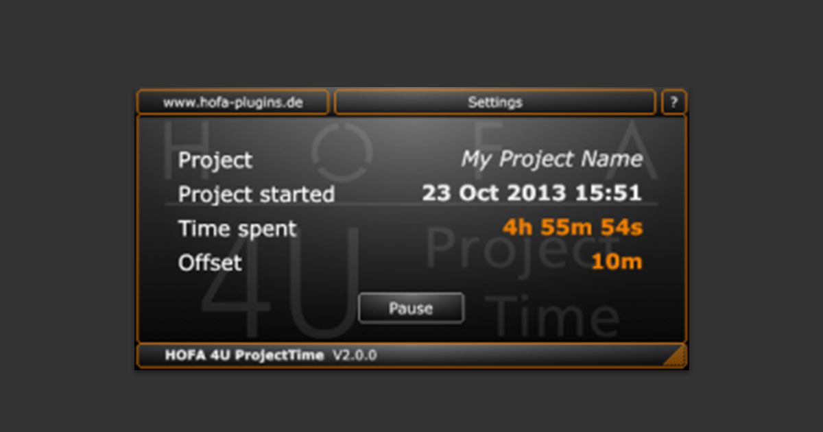 Download HOFA 4U Free ProjectTime Plugin For PC and Mac Now