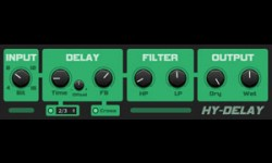 HY-DELAY Free VST Delay Effect Plugin