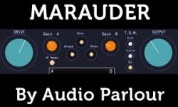 Audio Parlour Marauder Free Distortion VST Plugin