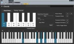 Chordz, a free vst plugin utility for chords