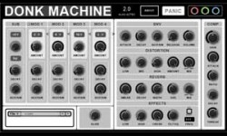 Donk Machine 2 Free VST Synth Plugin