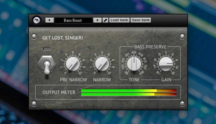GLS! Vocal Remover VST Plugin | Free VST Download For Windows