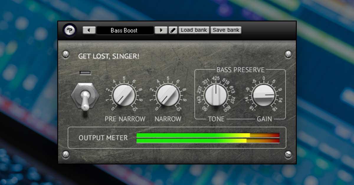 Get Lost Singer - Free GLS Vocal Remover VST Plugin For Download
