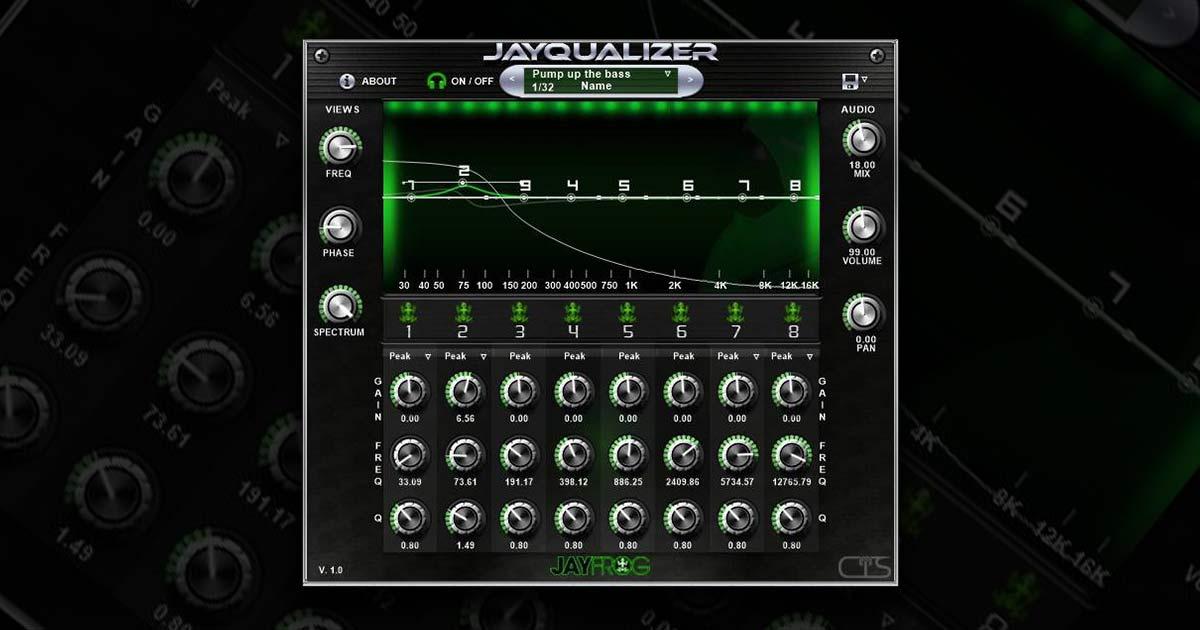 Jayqualizer - Free EQ VST Plugin For Download