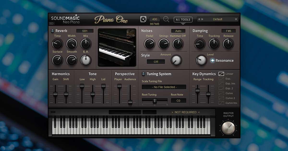 Piano One - Free Piano VST Plugin For PC & Mac