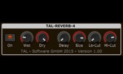 TAL Reverb 4 - Free reverb VST plugin