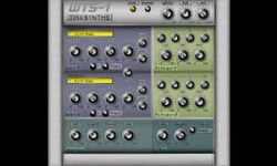WTS1 Free VST Synth Plugin For Windows