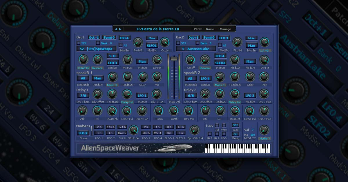 Alien Space Weaver Synth For PC