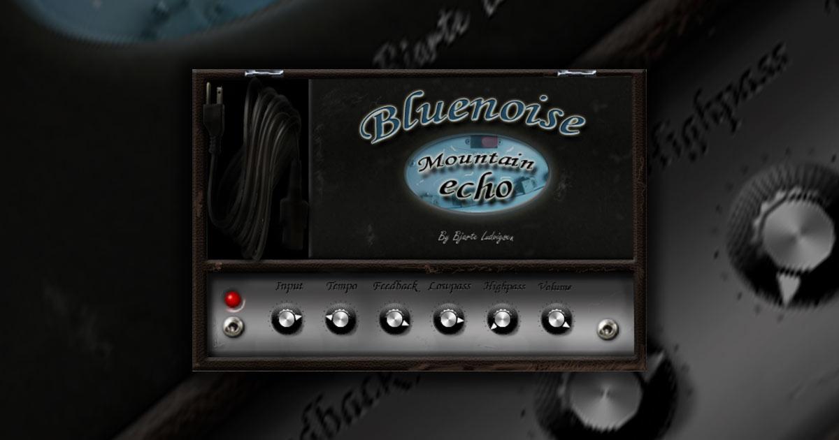 Free Bluenoise Mountain Echo VST Plugin