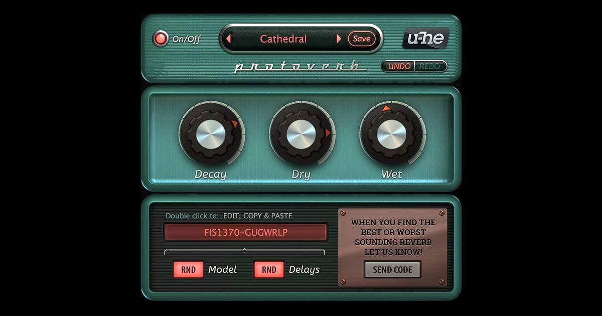 Free Reverb Plugin Download by U-He