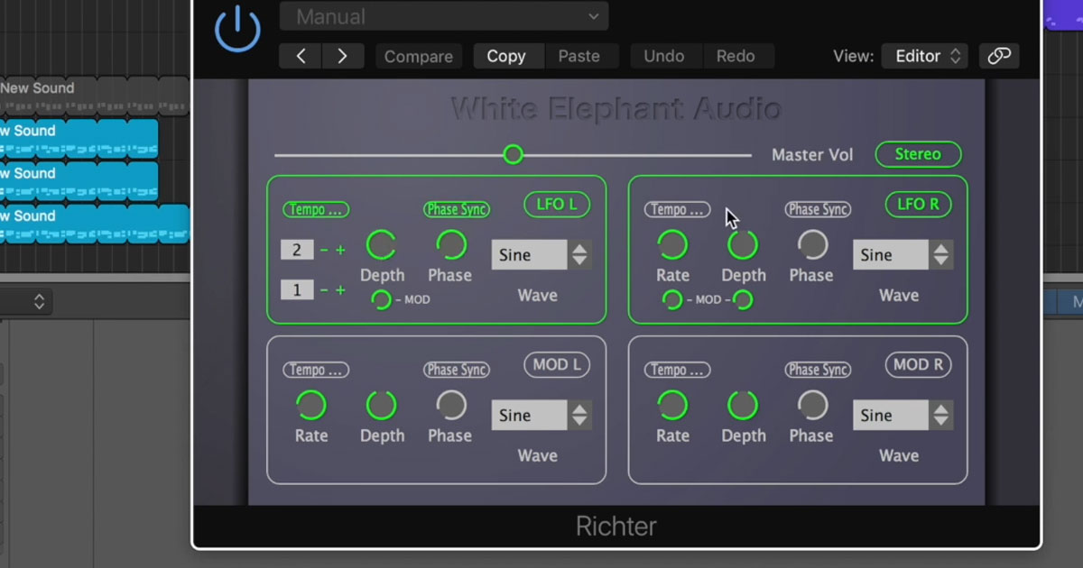 White Elephant Richter Plugin Download