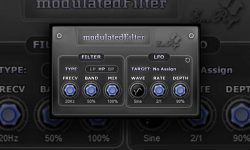 Saschart modulatedfilter - A Free Filter VST Plugin For Windows