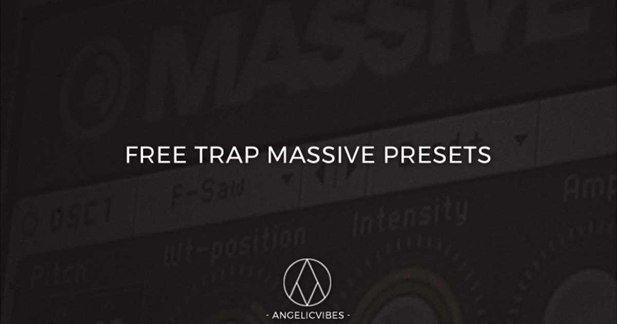Free Trap Massive Presets