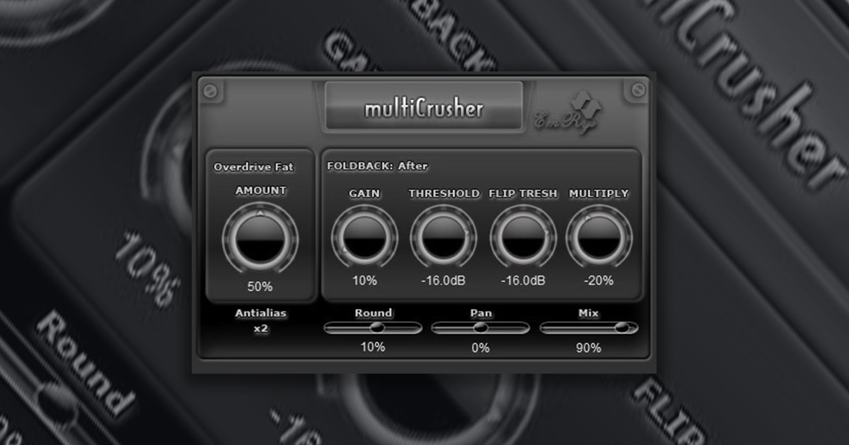 Free Saschart Multicrusher Distortion Plugin Download For PC and Mac