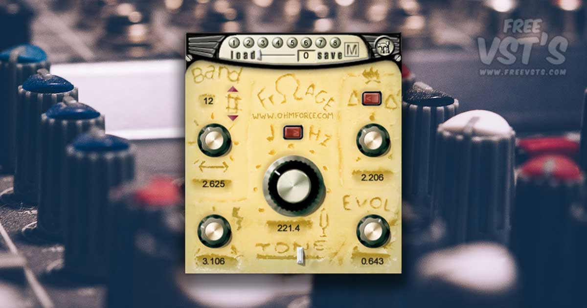 Download Frohmage - A Free Filter VST and AU Plugin For PC & MAC