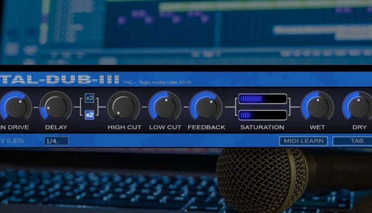 Tal Dub III - Free Delay Plugin | Download For PC & Mac