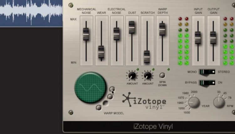 iZotope Vinyl | Free Plugin Download | Free VSTs