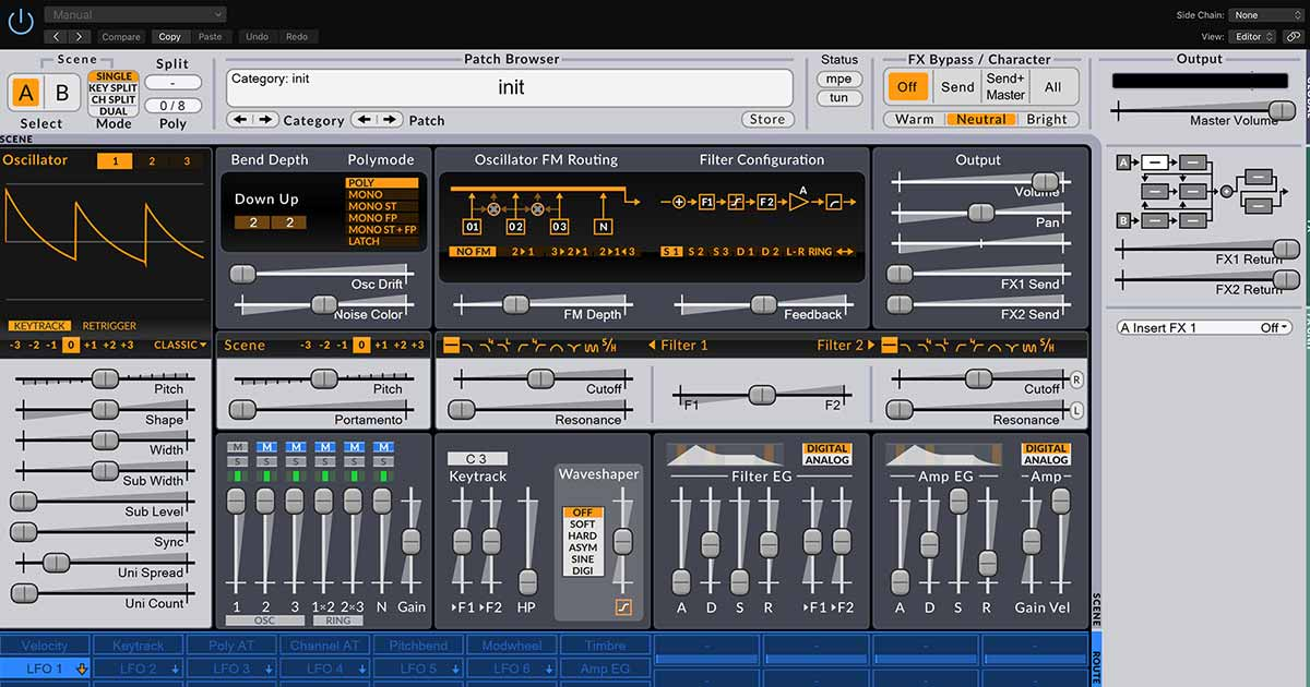 Download Surge - Free Synth Plugin For PC Mac and Linux